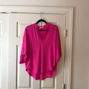 EUC Lush Hot Pink Blouse